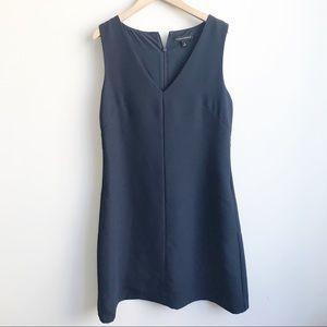 Banana Republic Blue V Neck Shift Dress